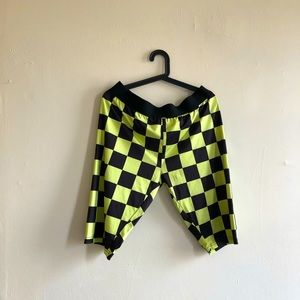 TMC Fashion Nova Neon Biker Shorts Spandex